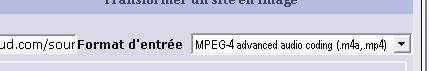 format d'entrée du fichier sur media-convert